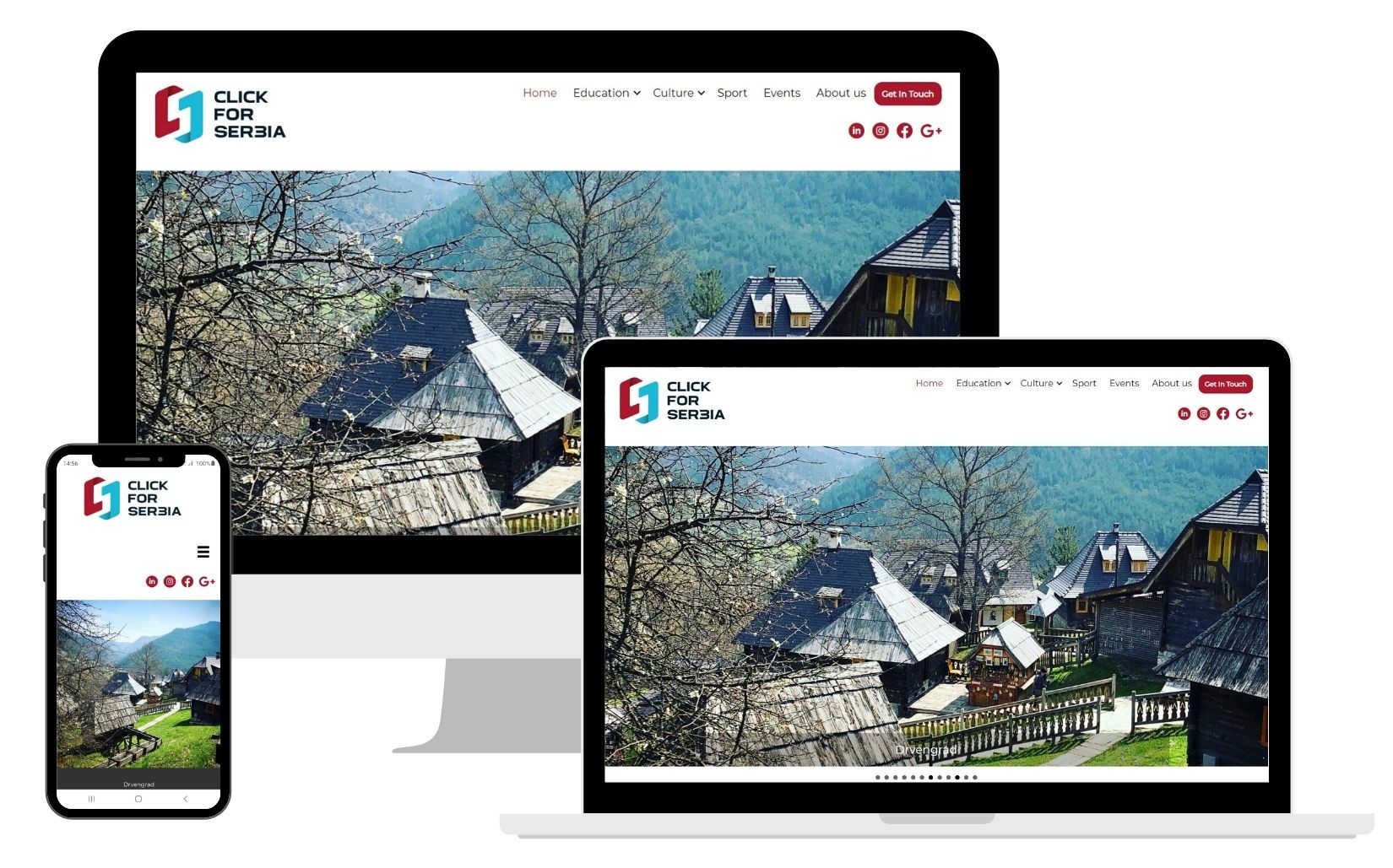 web design, click for serbia, amt, aspermont media & technology
